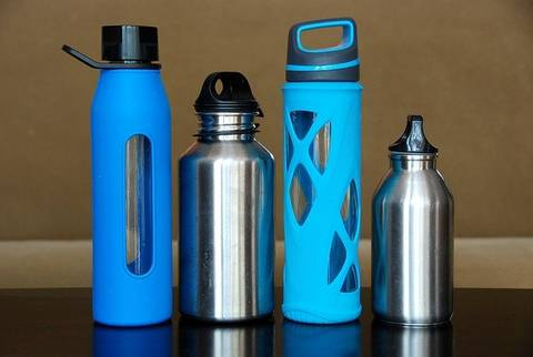 Water bottle material