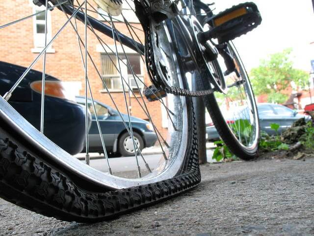 Pump Up Your Tires and increase bike speed