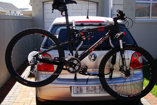 how to fit Bike Rack