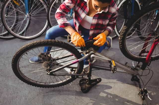 Secure Your Bike To Stand or Flip Bike Over