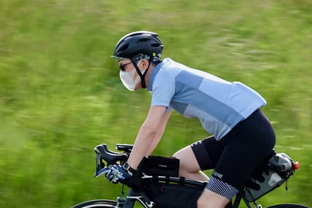 want to increase average cycling speed? Reduce Wind Resistance