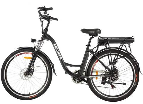 ANCHEER Commuting Electric Cruiser Bike for senior woman