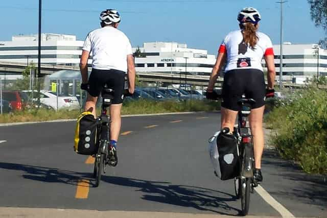 How to attach a Pannier on a Road-bike?